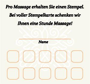 Sabunnga Thaimassage Regensburg Bonuskarten sind da!