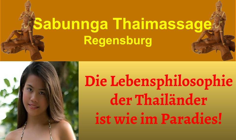 tong tha imassage regensburg Sabunnga Thaimassage Regensburg SABUNNGA THAI-MASSAGE in Regensburg Minoritenweg 31