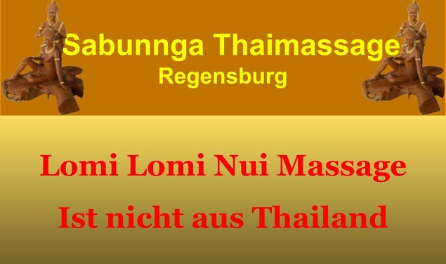 Lomi Lomi Nui Massage kommt nicht aus Thailand