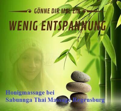 Honigmassage bei Sabunnga Thai Massage Regensburg