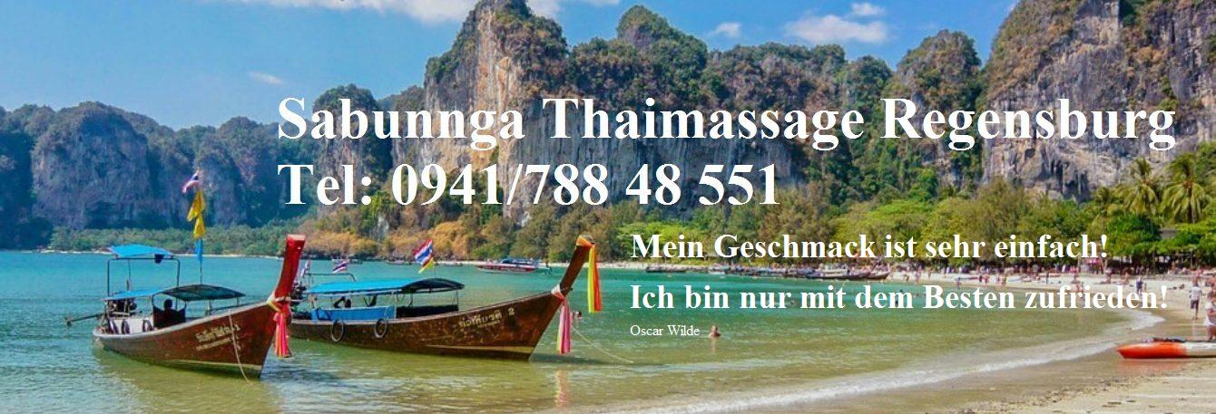 Sabunnga Thai Massage Regensburg Tel: 0941/788 48 551